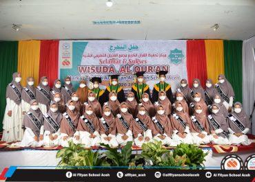 Wisuda Al-Qur'an Markaz Tahfizh Al-Fityan School Aceh Tp. 2020/2021