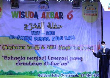 Wisuda Akbar VI TKIT-SDIT Al-Fityan School Kubu Raya