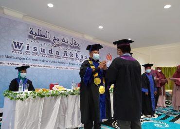 Wisuda Akbar SDIT dan SMPIT Al-Fityan School Medan