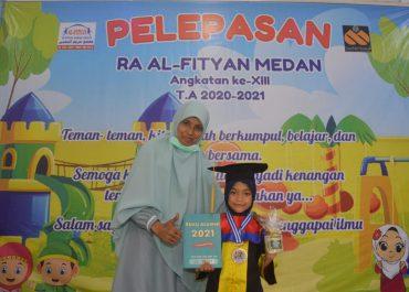 Wisuda RA Al-Fityan Medan TP. 2020/2021