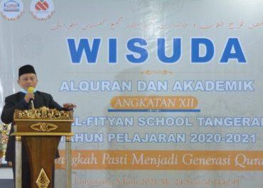 Wisuda Al-Quran dan Akademik Angkatan XII SMP Al-Fityan School Tangerang