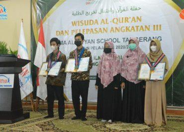 Wisuda Al-Quran dan Pelepasan Angkatan III SMA Al Fityan School Tangerang