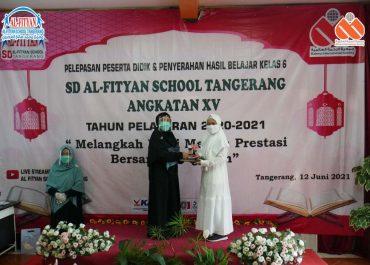 Pelepasan dan Penyerahan Hasil Belajar Kelas 6 SD Al-Fityan School Tangerang