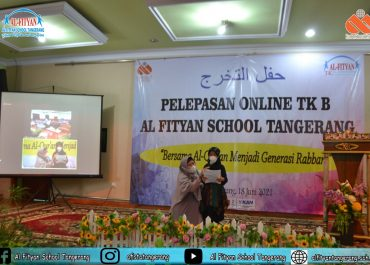 Pelepasan Online TK B Al-Fityan School Tangerang Angkatan ke-13